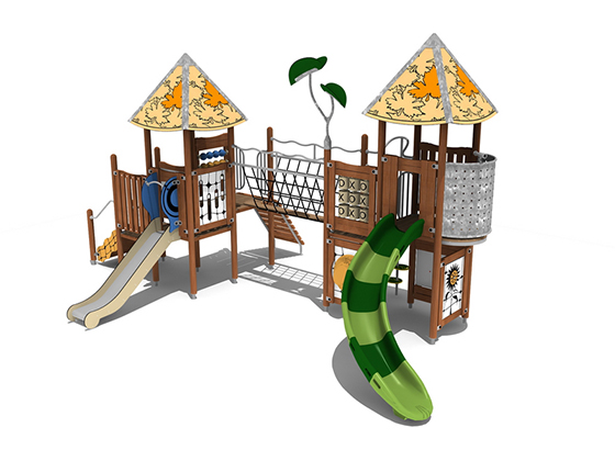 Fe 0028 Commercial Playground Equipment Creative System