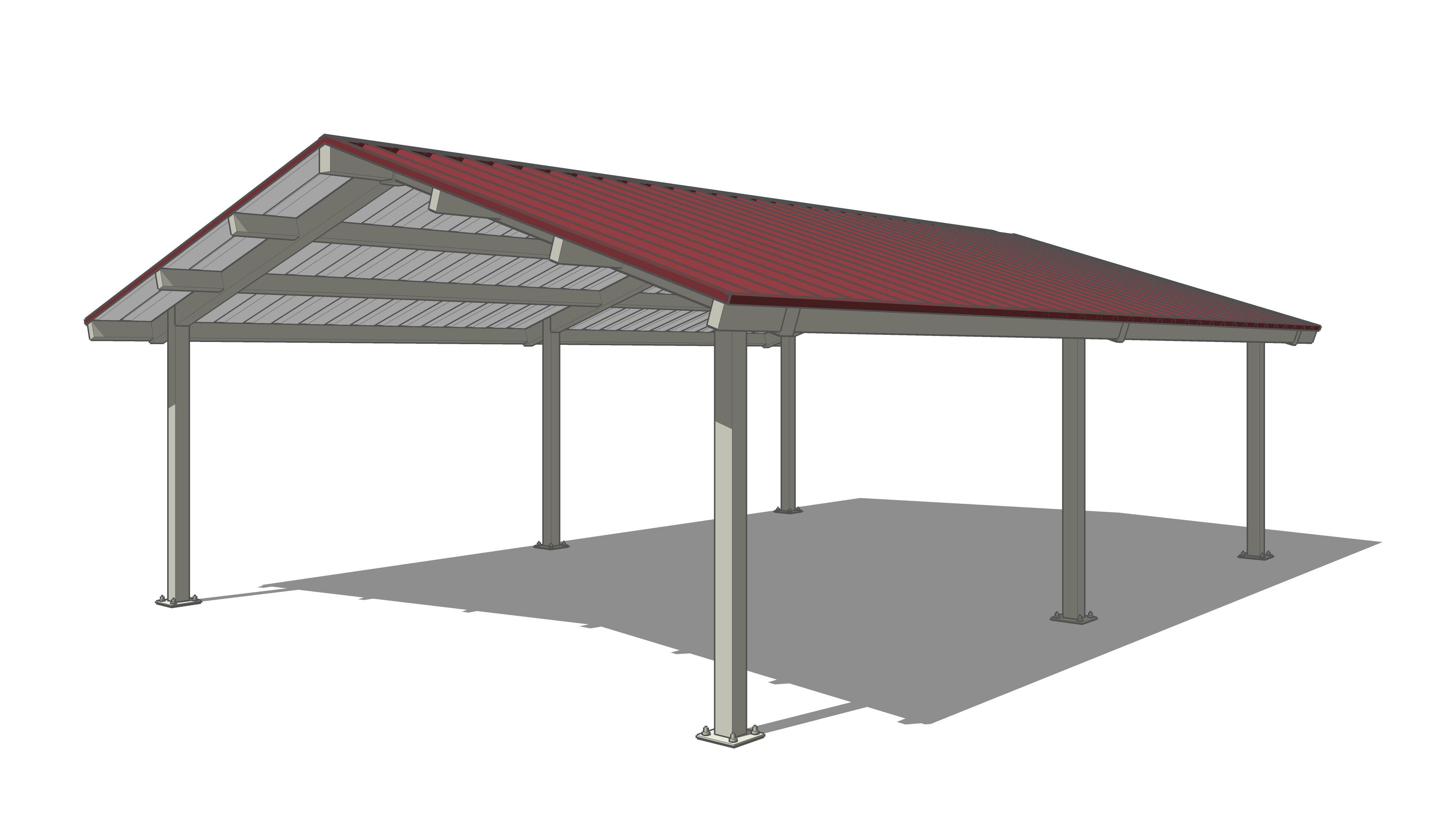 Shade structures for Metal sun shade structures