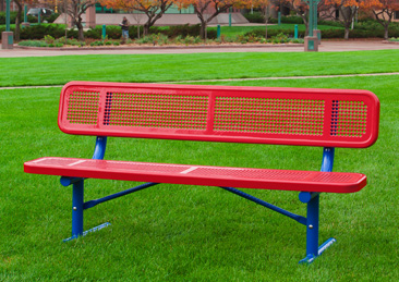 Amazing Commercial Thermoplastic Coated Park Benches Plastic Bralicious Painted Fabric Chair Ideas Braliciousco