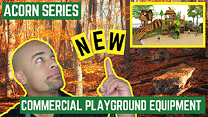 All New Acorn Series Commercial Playground Equipment