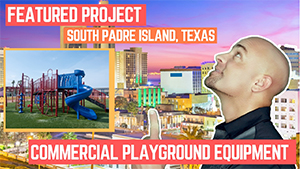 Featured New Commercial Playground Installation South Padre Island Texas