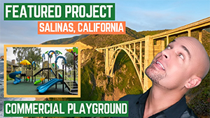 Featured Playground Nature Tree Project in Salinas California