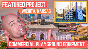 New Featured Playground Project in Wichita Kansas