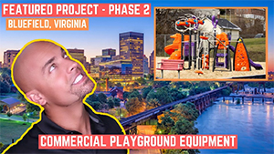 2 New Commercial Playground Installations in Bluefield Virginia Part-2
