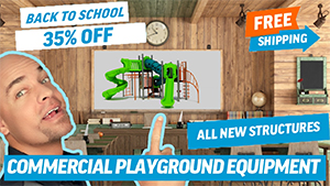 2019 Back to School Sale Commercial Playground Equipment