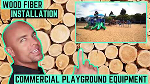 Engineered Playground Wood Fiber - 2 Types of Installation - 4 Projects