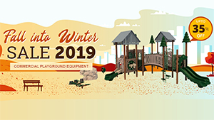 Fall Into Winter Playground Sale 2019-2020