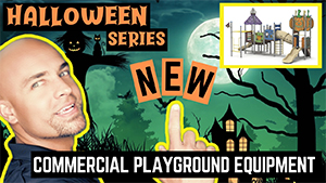 Halloween Themed Commercial Playground Series