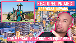 New Playground Installation in Las Vegas Nevada